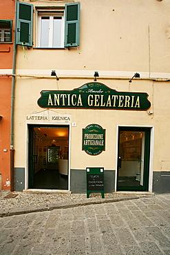 Amedeo Antica Gelateria, ice cream shop, Boccadasse, Ligury, Italy, Europe