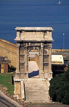 Arco di Traiano, Ancona, Marche, Italy