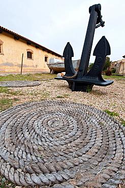 Museo Geominerario di Stagnali, Caprera island,  La Maddalena, Olbia - Tempio district, Sardinia, Italy, Europe