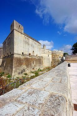 The castle, Salentine Peninsula, Acaia San Cataldo, Apulia, Italy