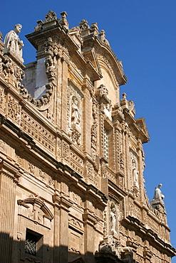 Sant'Agata cathedral, Gallipoli, Salentine Peninsula, Apulia, Italy