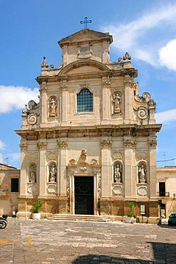 Alcantarine or Santa Maria della Provvidenza church, Lecce, Salentine Peninsula, Apulia, Italy