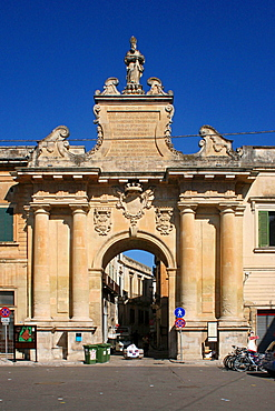 St. Blaise Gate, Lecce, Salentine Peninsula, Apulia, Italy