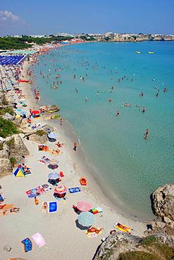 Beach, Salentine Peninsula, Torre dell'Orso, Apulia, Italy