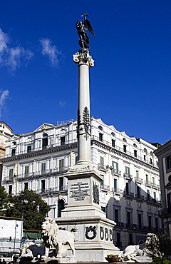 Piazza dei Martiri, Naples city, Campania, Italy, Europe