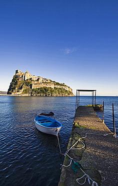 Ischia Ponte, Ischia Island, Naples, Campania, Italy, Europe