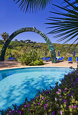 Negombo thermal baths,Ischia island,Naples,Campania,Italy,Europe.