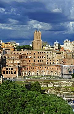 Rome. Lazio. Italy. Europe. Mercati di Traiano.