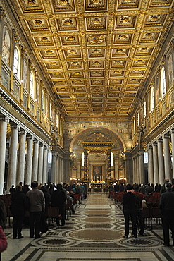 Rome. Italy. Europe. Santa Maria Maggiore Church.