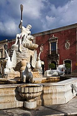 Fonte della Mela source, Milazzo, Sicily, Italy, Europe
