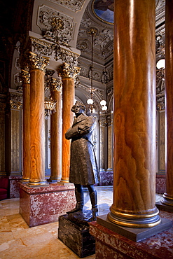 Theatre Massimo, foyer, Catania, Sicily, Italy, Europe