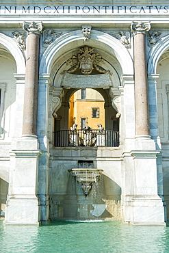Fontanone, Acqua Paola fountain, via Garibaldi, Giannicolo, Rome, Lazio, Italy, Europe