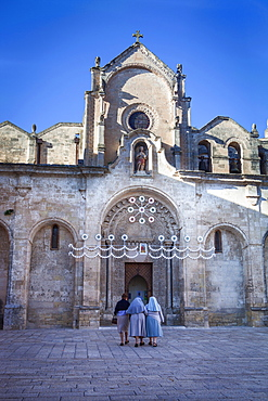 San Giovanni Battista Church, Matera, Lucania,Basilicata, South Italy, Italy, Europe