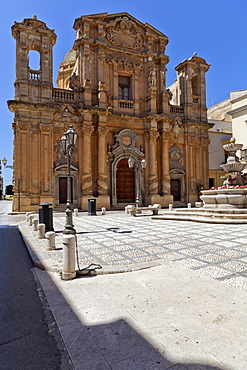 Chiesa del Purgatorio church, Marsala, Sicily, Italy, Europe