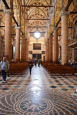 Sant'Anastasia church, Verona, Veneto, Italy, Europe