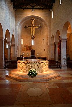 San Giovanni in Fonte church, Verona, Veneto, Italy, Europe