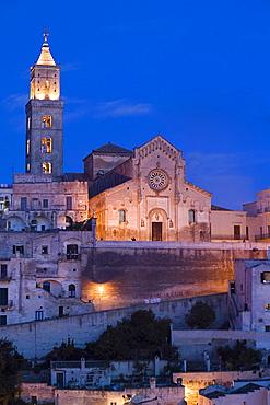 Santa Maria della Bruna cathedral, Matera, Basilicata, Italy