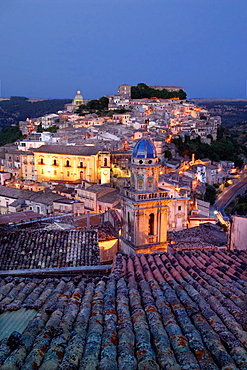 Ragusa Ibla, Ragusa Superiore, province of Ragusa, Sicily, Italy, Europe
