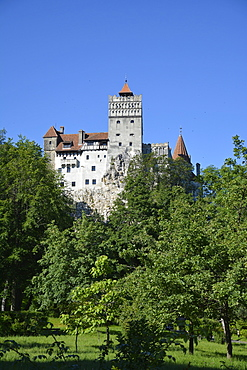 Bran Castle, Dracula's castle in the legend, Transylvania, Romania, Europe