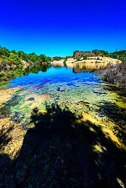 Solfatara, Nature Reserve di Malafede Decima; Pontina,  Rome; Lazio; Italy; Europe