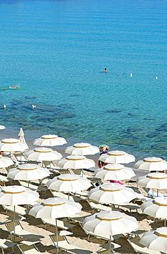 Foreshortening, Rena Bianca beach, Santa Teresa di Gallura, Olbia Tempio, Gallura, Sardinia, Italy, Europe