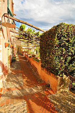 Verezzi old village, Ligury, Italy, Europe