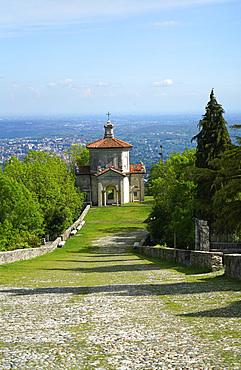 Fourteenth Chapel, Via Sacra del Sacro Monte path, Santa Maria del Monte, Sacro Monte di Varese, UNESCO, World Heritage Site, Lombardy, Italy, Europe