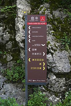 Santa Maria del Monte, Sacro Monte di Varese, UNESCO, World Heritage Site, Lombardy, Italy, Europe