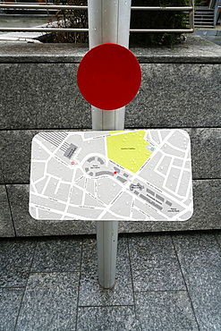Piazza Gae Aulenti square, Porta Nuova district, Milan, Lombardy, Italy, Europe