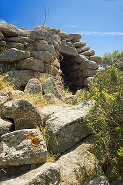 Nuraghe Tuttusoni, Aglientu, Sardinia, Italy, Europe
