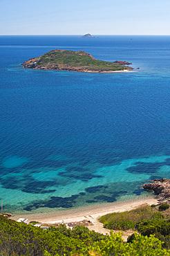Proratora Islet; Capo Coda Cavallo, San Teodoro, Sardinia, Italy, Europe