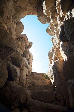 Nuraghe Sceri, Archaeological site, Ilbono, Nuoro, Sardinia, Italy, Europe