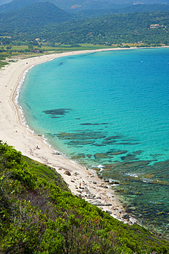 Lozari beach, Corsica, France, Europe