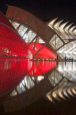 Hemisferic, Museu de les Ciences Principe Felipe, Ciutat de les Arts i les Ciències, Valencia, Spain, Europe