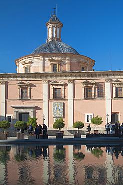 Basilica de la Mare de Deu, Plaza de Almojna, Valencia, Spain, Europe