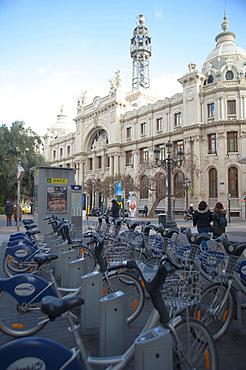Post Building, Plaça de l'Ajuntament, Valencia, Spain, Europe