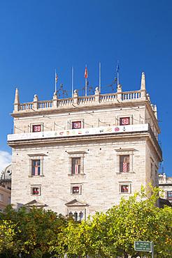 Plaça Mar de Deu, Plaça de la Virgen, Valencia, Spain, Europe