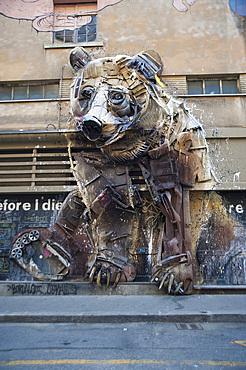 Installation; Teatro Colosseo, Turin, Piedmont, Italy, Europe