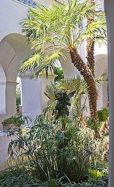 Villa S.Michele, Capri island, Naples, Campania, Italy, Europe