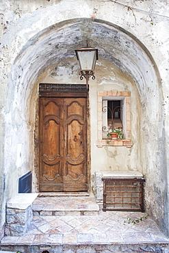 Foreshortening, Maratea, Basilicata, Italy, Europe