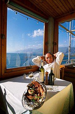 Da Drin Restaurant, Camogli, Liguria, Italy