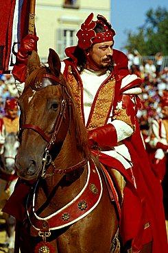 Character of the Palio, Palio di Asti, Asti, Piemonte, Italy