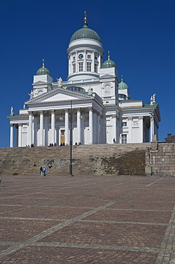 The Lutheran Cathedral in Senate Square, Helsinki, Finland, Scandinavia, Europe