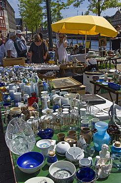The Flea Market, Copenhagen, Denmark, Scandinavia, Europe