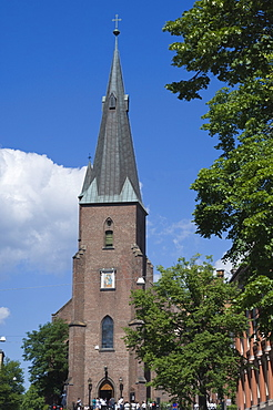 St. Olaf's Cathedral, Oslo, Norway, Scandinavia, Europe