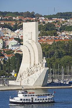Padrau Dos Descobrimentos (Monument to the Discoveries), Belem, Lisbon, Portugal, Europe