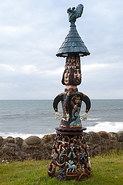 Flight of Fancy by the sea near Elie, East Coast, Fife, Scotland, United Kingdom, Europe