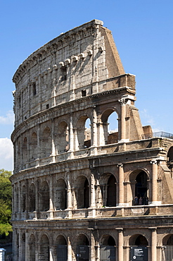 Colosseum, Ancient Roman Forum, UNESCO World Heritage Site, Rome, Lazio, Italy, Europe