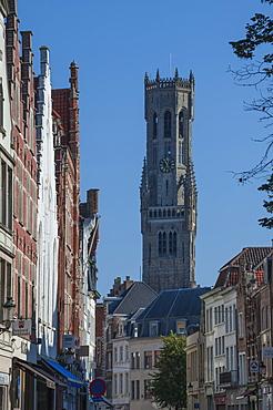 Belfry, Bruges, UNESCO World Heritage Site, Belgium, Europe