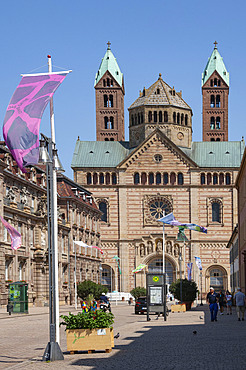 The 11th centy Romanesque Cathedral, Speyer, Rhineland Palatinate, Germany, Europe